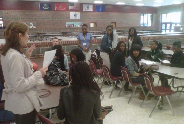 French youth are welcomed to South Effingham High School