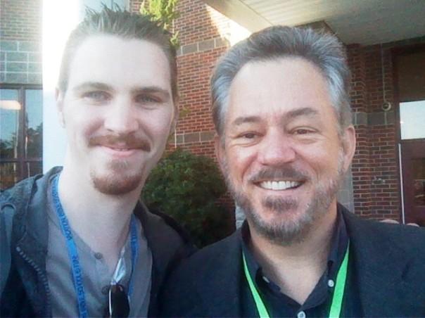 Thomas and Pastor Bob