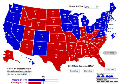 Two interesting maps of the USA | Bob Rogers